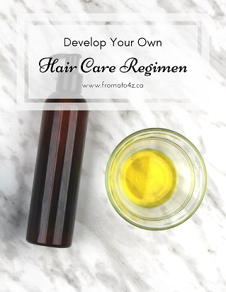 Hair Care Regimen template
