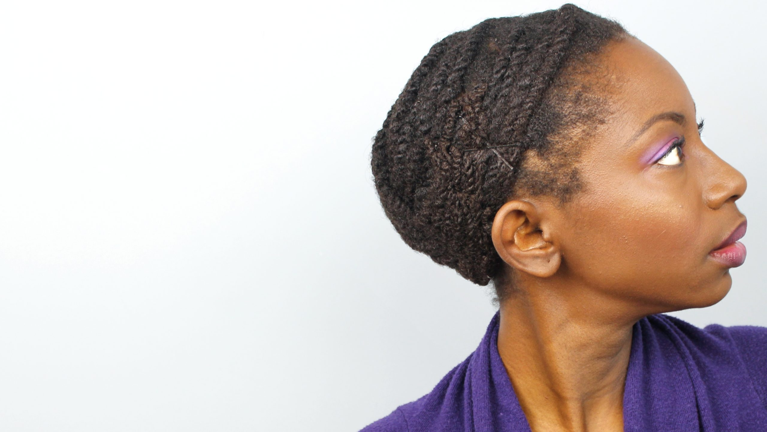Simple method for stretching two strand twists
