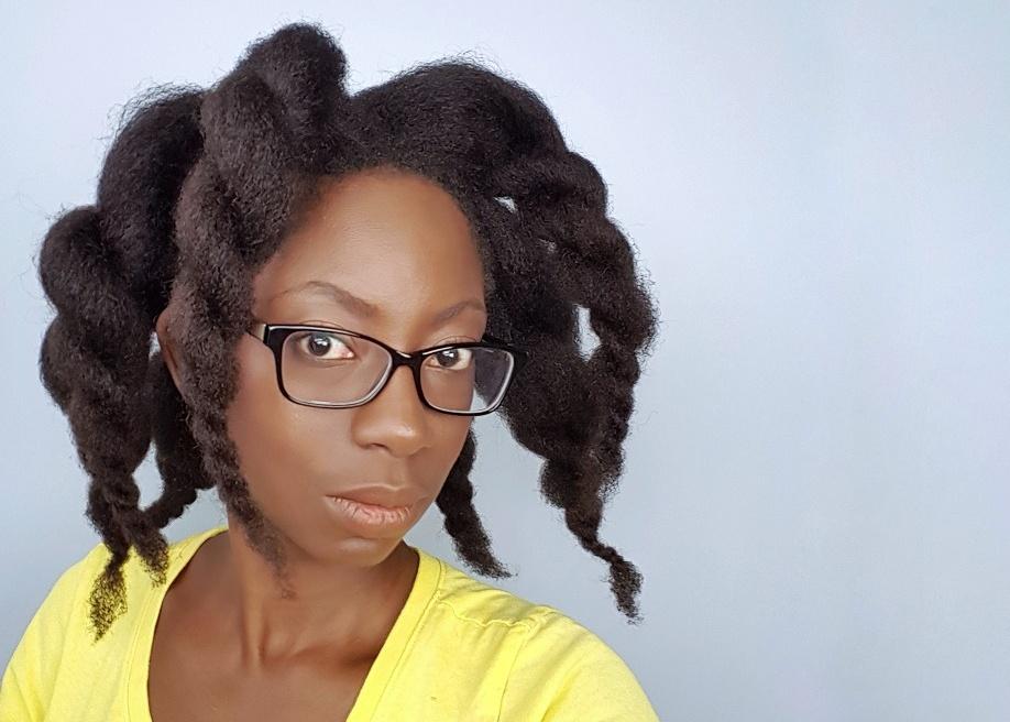 Heatless Blowout on 4c Hair