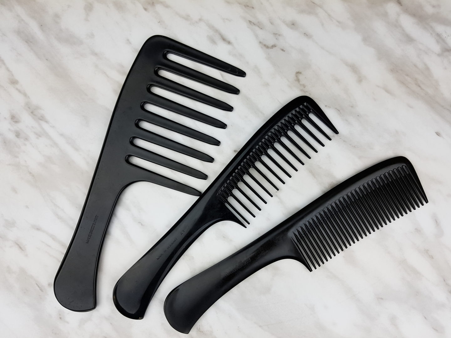 Detangling 4c Hair with a Comb
