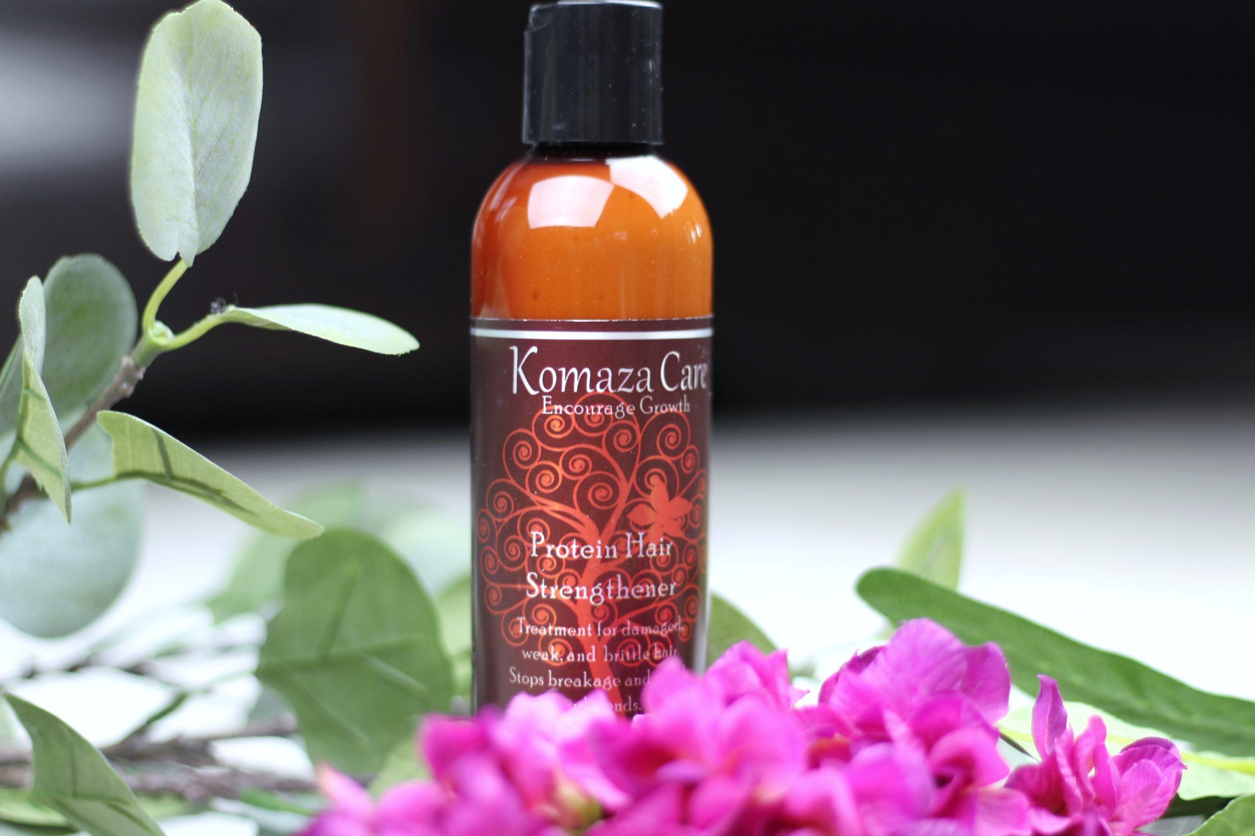 Komaza Hair Care Protein Hair Strengthener
