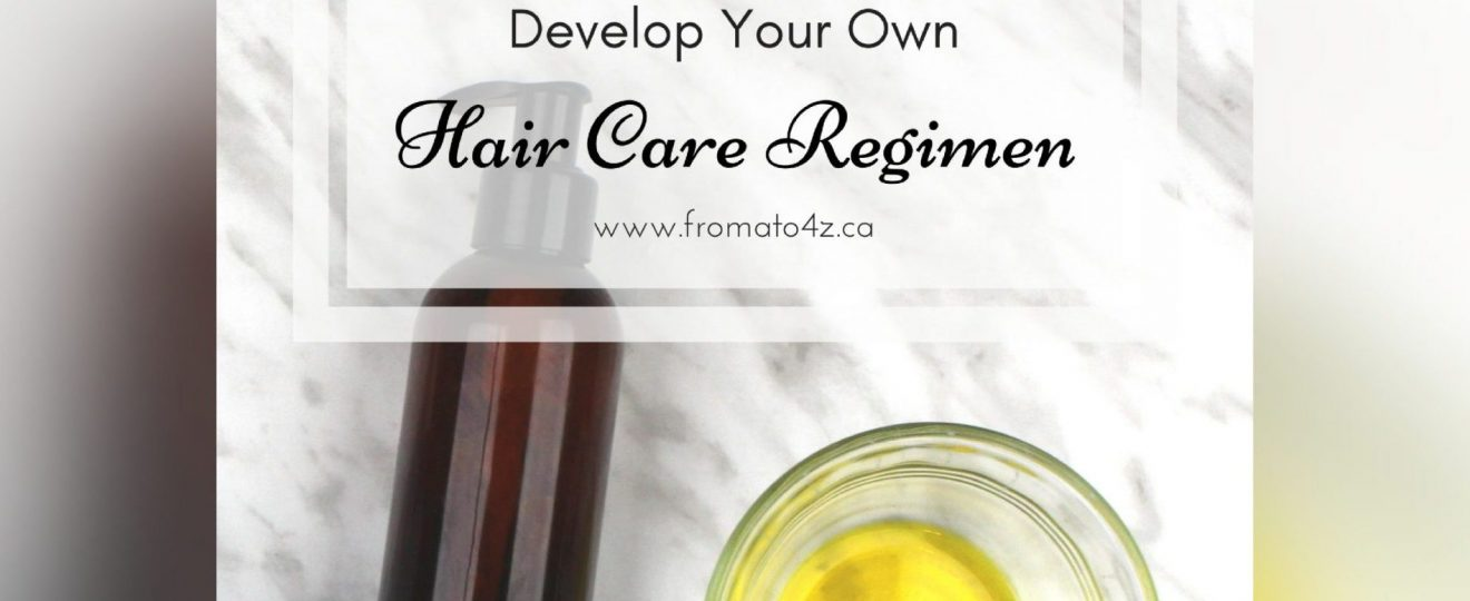 Develop Your Own Hair Care Regimen template